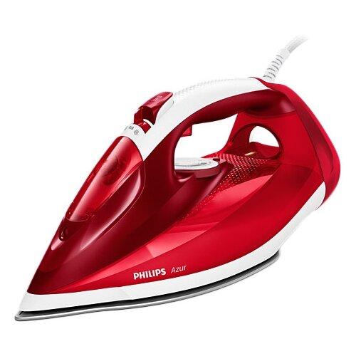 Утюг Philips GC4542/40 Azur красный/белый утюг philips gc4595 40 2600вт белый красный