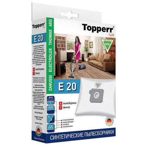 Topperr Синтетические пылесборники E20 4 шт. недорого