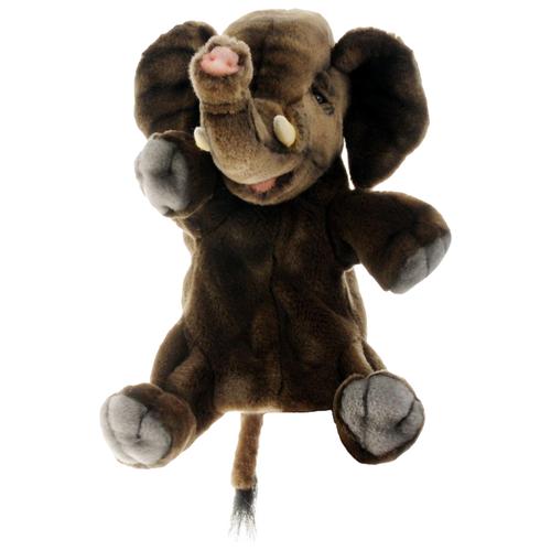 Hansa Кукла на руку Слон (4040) коричневый hansa fceb53000 коричневый