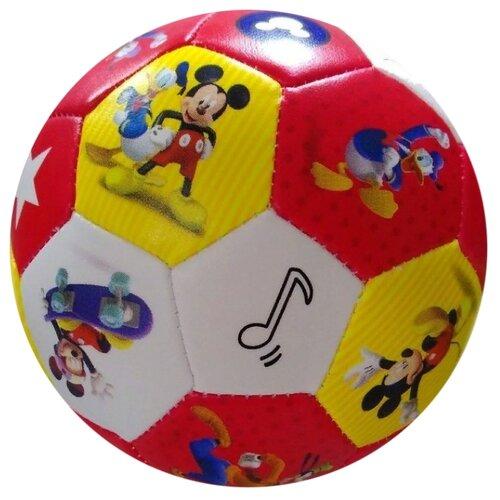 Фото - Мяч ЯиГрушка Микки, 10 см, красный мячики и прыгуны яигрушка мяч микки 10 см