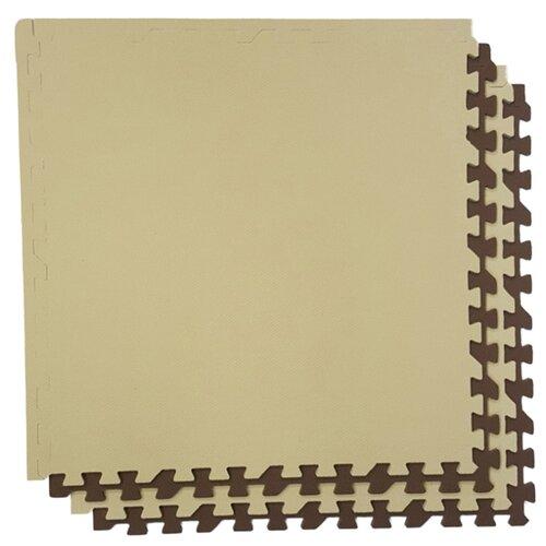 Купить Коврик-пазл ЭкоПолимеры универсальный 60х60, Игровые коврики