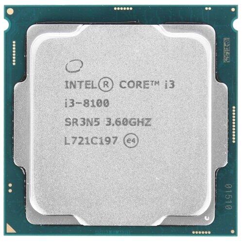 Купить Процессор Intel Core i3-8100 OEM