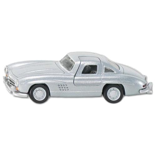 Купить Легковой автомобиль Siku Mercedes 300SL (1470) 1:55 8.4 см серебристый, Машинки и техника