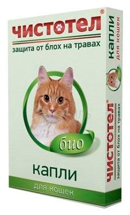 ЧИСТОТЕЛ Био капли для кошек