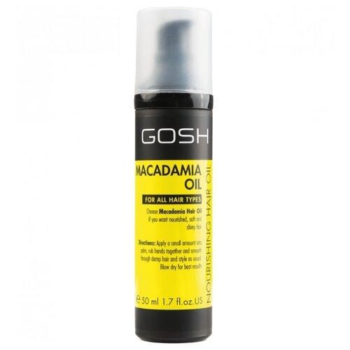 GOSH Macadamia Oil Питательное масло для волос, 50 мл gosh macadamia oil shampoo