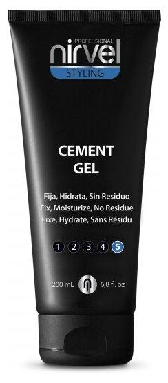 Nirvel Styling гель экстремальной фиксации Cement Gel