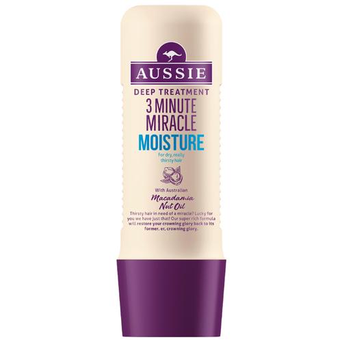 Aussie 3 Minute Miracle Средство интенсивного ухода для сухих и поврежденных волос, 250 млМаски и сыворотки<br>