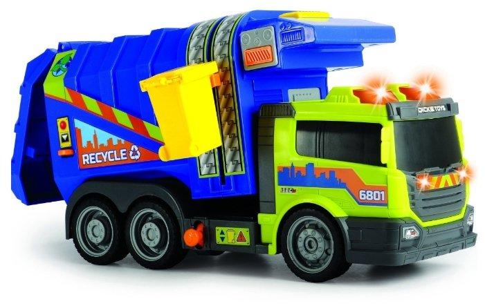 Мусоровоз Dickie Toys 3308379 39 см зеленый/синий
