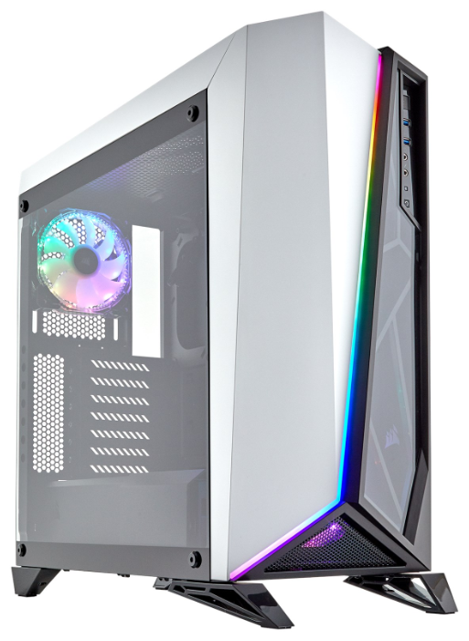 Компьютерный корпус Corsair Carbide Series SPEC-OMEGA RGB White