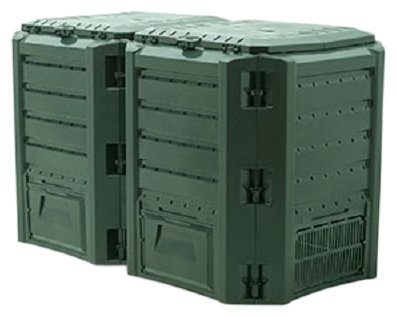 Компостер для дачи Prosperplast IKSM800Z-G851