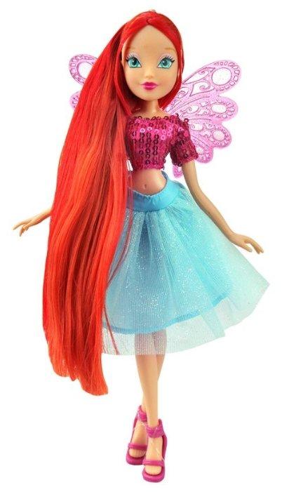 Кукла Winx Club Мерцающее облако Блум, 28 см, IW01471701