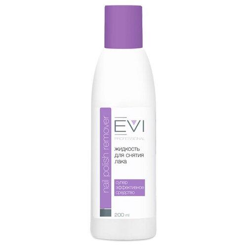 EVI professional Жидкость для снятия лака с ацетоном 200 мл