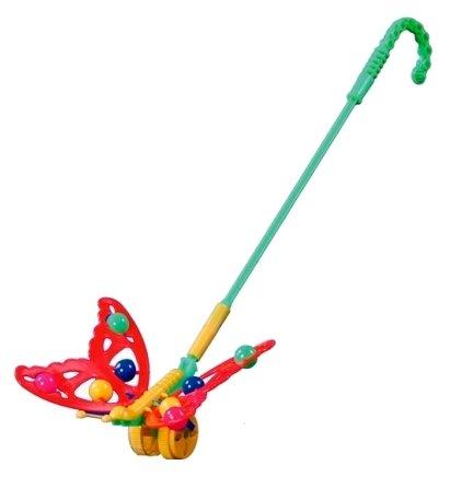 Каталка-игрушка ОГОНЁК Бабочка (ОГ675)