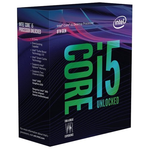 Купить Процессор Intel Core i5-8600K BOX