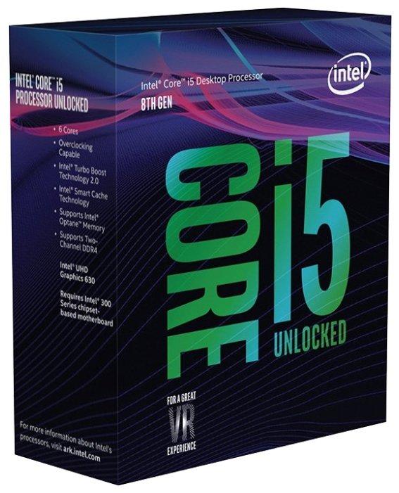 Процессор Intel Core i5-8600K