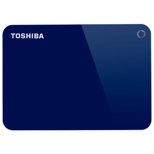 Фото - Внешний HDD Toshiba Canvio Advance 2 ТБ синий внешний hdd toshiba canvio alu 1 тб красный