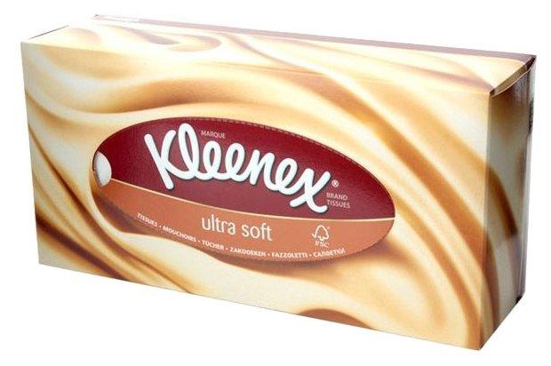 Салфетки Kleenex Ultrasoft, 56 шт