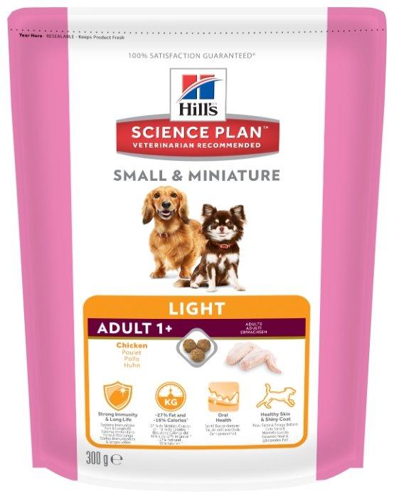 Корм для собак Hill's Science Plan для здоровья кожи и шерсти, курица 300г (для мелких пород)
