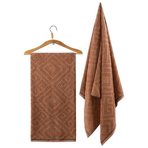 Guten Morgen полотенце Помпеи банное 70х130 см коричневый