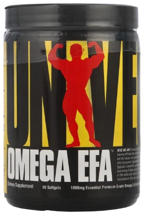 Омега жирные кислоты Universal Nutrition Omega EFA (90 капсул)