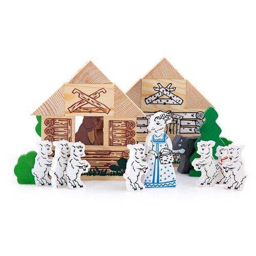 Томик Волк и семеро козлят (4534-5) чехол для iphone 5 глянцевый с полной запечаткой printio волк и семеро козлят