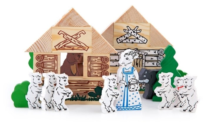 Томик Волк и семеро козлят (4534-5)