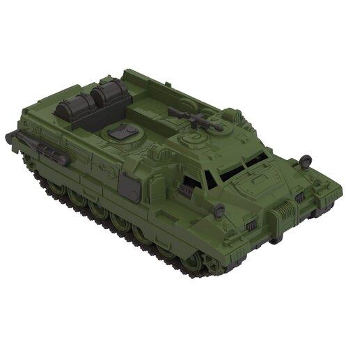 Купить Вездеход Нордпласт Страж (218) 31 см зеленый, Машинки и техника