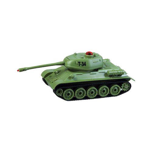 Танк Пламенный мотор Т-34 (870234) 1:32 22 см зеленый цена 2017