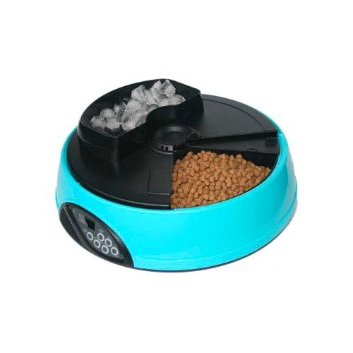 Автокормушка Feed-Ex для кошек и собак PF1 2 л голубой/черный туалет feed ex мульти кэт lk2