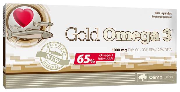 Омега жирные кислоты Olimp Gold Omega 3 65% (60 капсул)