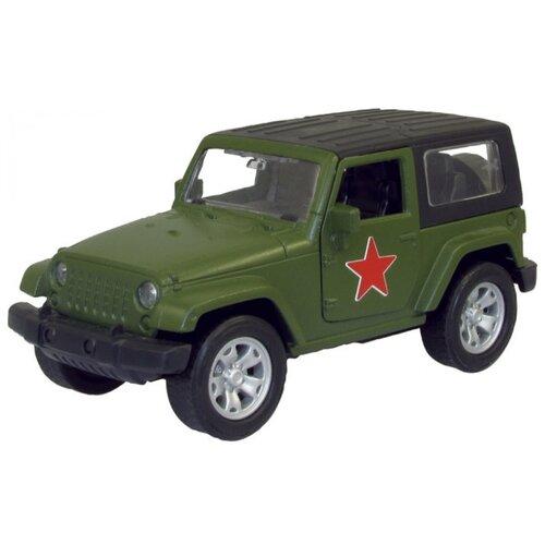Купить Внедорожник Autotime (Autogrand) USA Allroad 4WD армейская (33883) 1:36 зеленый, Машинки и техника