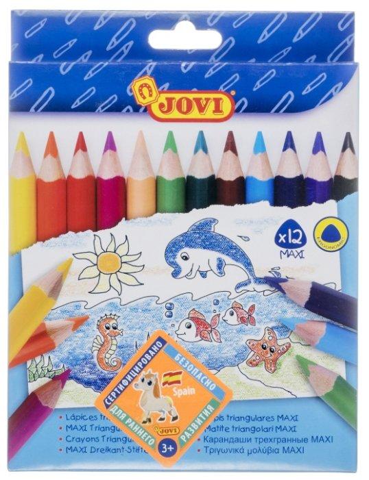 JOVI Цветные карандаши 12 цветов (735/12)