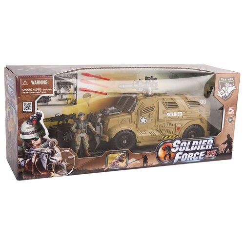 Купить Набор фигурок Chap Mei Soldier Force 521005, Солдатики
