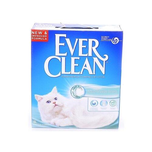 Наполнитель Ever Clean Aqua Breeze (6 л)Наполнители для кошачьих туалетов<br>