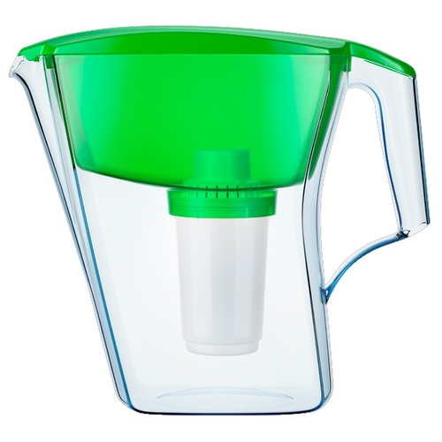 Фото - Фильтр кувшин Аквафор Арт 2.8 л зеленый кувшин аквафор ультра зеленый