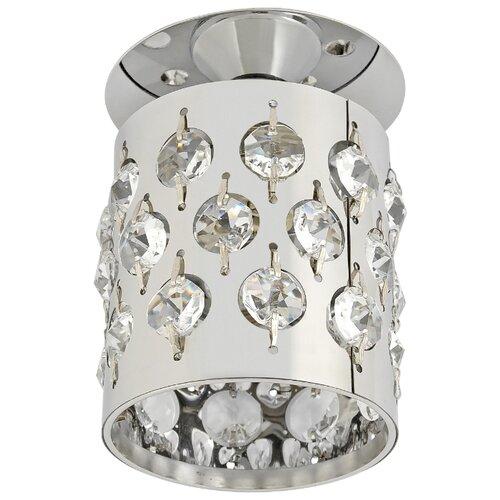 Встраиваемый светильник De Fran FT 877 cСветильник  De Fran  Подвеска, хром / прозрачные кристаллыВстраиваемые светильники<br>