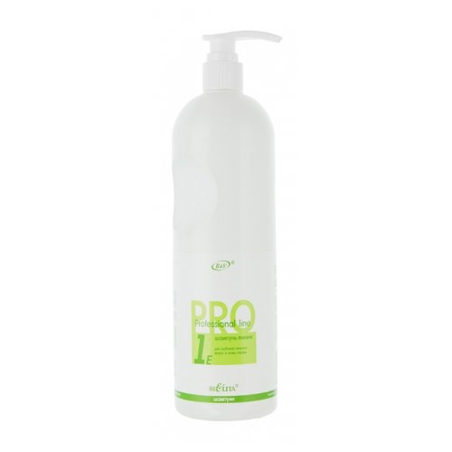 Bielita шампунь-пилинг Professional line для глубокой очистки волос и кожи головы 1000 мл с дозатором line шампунь