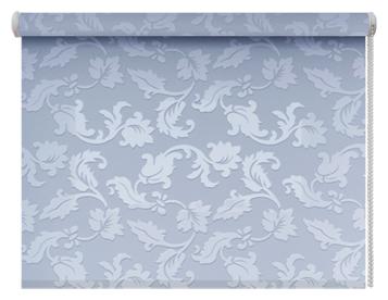 Рулонная штора DDA Вояж (голубой), 37х170 см