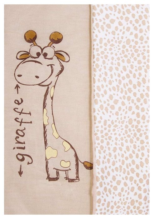 Плед Сонный Гномик Жираф 593В 75х90 см