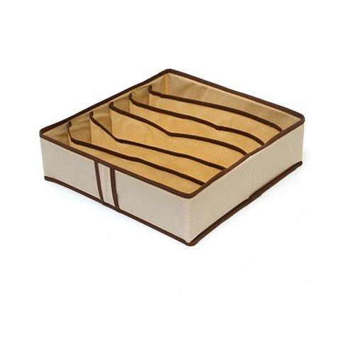HOMSU Органайзер для бюстгальтеров на 6 ячеек Bora-Bora бежевый/коричневыйОрганайзеры и кофры<br>