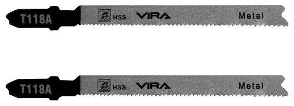 Набор пилок для лобзика Vira T118A 552038 2 шт.