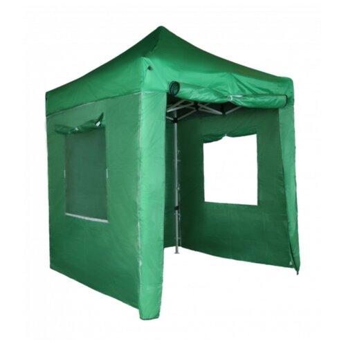Шатер Helex S6.5, 2x2, со стенками, 2 х 2 х 3 м зеленый