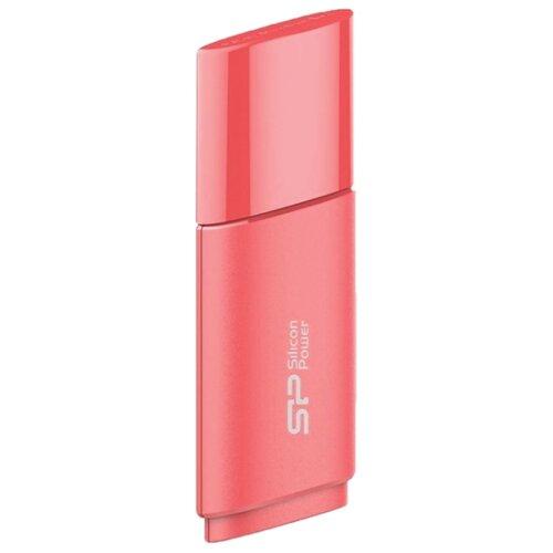 Флешка Silicon Power Ultima U06 64GB розово-персиковый  - купить со скидкой