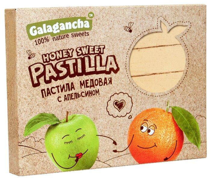 Пастила GALAGANCHA медовая с апельсином 190 г