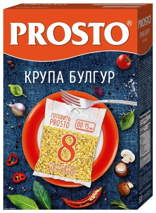 PROSTO Булгур 500 г 8 пакетов по 62,5 г