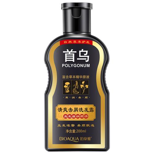 цена на BioAqua шампунь восстанавливающий для волос с корнем горца многоцветкового POLIGONUM 200 мл