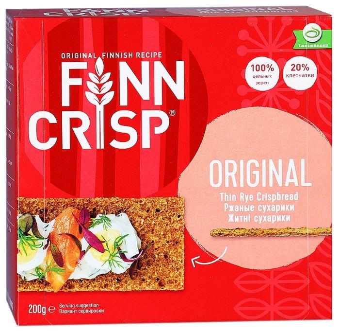 Сухарики Finn Crisp ржаные 200 г x 3 шт