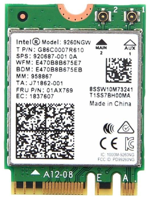Bluetooth+Wi-Fi адаптер Intel 9260NGW.AC