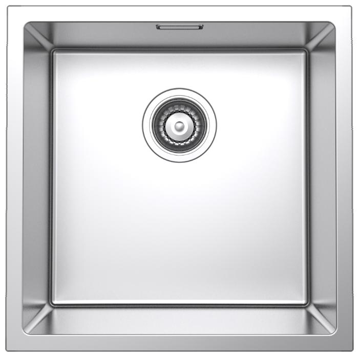 Врезная кухонная мойка IDDIS Edifice EDI44S0i77 44х44см нержавеющая сталь