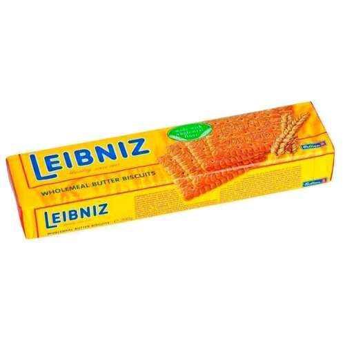 Печенье Leibniz Wholemeal butter biscuit, 200 г